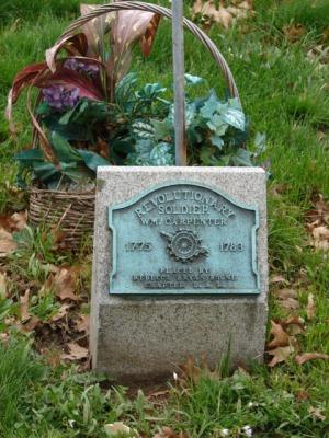 Wm Carpenter plaque
