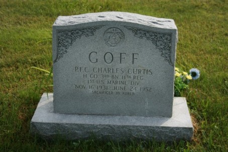 charles goff grave