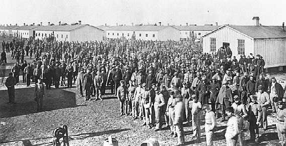 ConfederateprisonersFortDelawarebyElbertFreeofEastlandCountyTexas