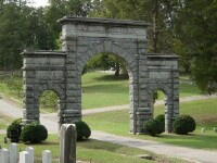 memorial hill arch